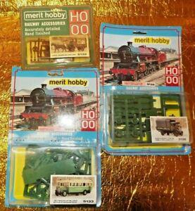 Vintage Merit Hobby Railway Accessories Vehicles