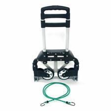 Compact Aluminium Folding Push Cart Portable Travel Shopping Trolley Luggage