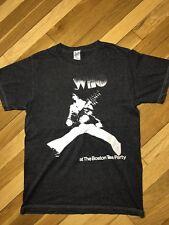 Vintage 1969 THE WHO AT THE BOSTON TEA PARTY Concert Tour Shirt Small Retro 70s