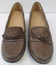 Womens Geox Respira Italian Leather Brown Shoes  Size UK 5.5 EUR 38.5 RRP £98.00