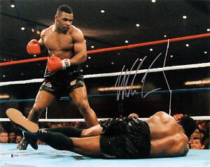 Mike Tyson Authentic Signed 16x20 Trevor Berbick KO Photo Autographed BAS