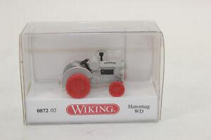 Wiking 087202 Hanomag Ws Agate Gray 872 02 1:87 New Original Packaging H0