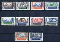 Sellos Marruecos 1946 nº 260/269 Artesania sellos nuevos colonias españolas