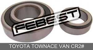 Repair Kit, Ball Bearing Rear Axle Shaft 35X80X21X28 For Toyota Townace Van Cr2#