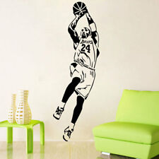 Kobe Bryant Wall Sticker Sports Decal Basketball Player Wallpaper Boys Room
