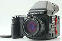 【Near MINT】 Mamiya 645 Pro w/ Sekor C 80mm f/2.8 N Lens Prism Finder  From Japan