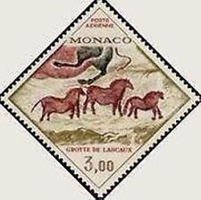 """MONACO STAMP POSTE AERIENNE N° 95 """" GROTTE DE LASCAUX , CHEVAUX """" NEUF xx TTB"""