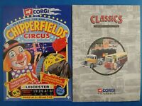 1990's Toy Brochures CORGI - CHIPPERFIELD CIRCUS & CLASSICS January June 1995
