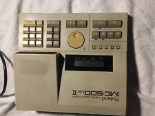 roland mc 500 mk2 vintage sequencer