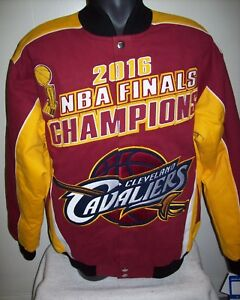 CLEVELAND CAVALIERS NBA FINALS Ultimate CHAMPIONSHIP Jacket  S M L XL 2X