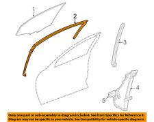 Chevrolet GM OEM 00-05 Impala Front Door-Run Channel Left 10364677