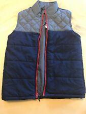 Place Boys Vest New Tags Size Xl Blue Grey Zip Up