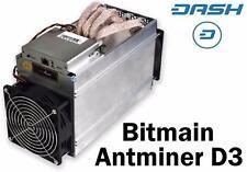 Antminer D3 (X11 Dash ASIC miner) - 17 GH/s + PSU