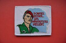 insigne tissu militaire patch armée écusson Béret Rouge Parachutistes PARA
