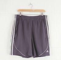 ADIDAS Blue Grey Casual Sports Track Shorts Size Men's Medium W32 L19
