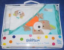 Sortie de bain + gant Babysun 80 x 80 cm