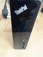 LENOVO THINKPAD USB 3.0 Dock FRU: 03X6059 (DU9019D1) Docking + UK Power Supply