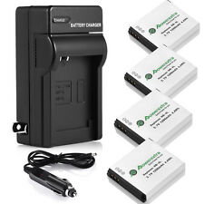 NB4L NB-4L Battery & Wall Charger For Canon PowerShot ELPH SD1000 SD1100 100 HS