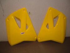 Lot Of 5 - Polisport Yellow Radiator Scoops for 2001-2007 Suzuki Rm125 & Rm250