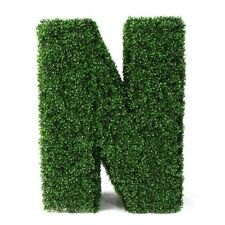 Artificial boxwood Hedge Letter 100cm High x 30 Wide