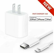Original 18w USB-C Power Adapter Fast Charger Set For iPhone 11 Pro Max