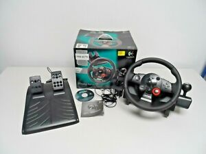Logitech Driving Force GT Sterring Wheel & Pedal Set for PS3/PC   G15