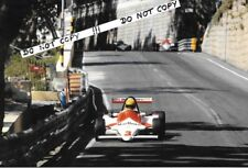 9x6 Photograph, Ayrton Senna , Theodore / WSR Ralt RT3 , Macau 1983