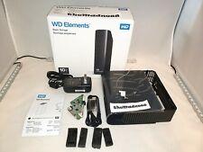 Western Digital WD Elements 10TB External Hard Drive Enclosure Case 3.5 NO DRIVE