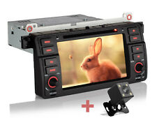 "Für BMW E46 3er 318 320 325 Rückfahrkamera+ 7"" GPS Navigation Autoradio DVD 1DIN"
