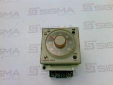 Omron H3CR-F8-300 Timer Relay w/Dayton Electronics Socket 5X852E