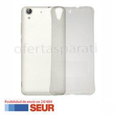 Funda Silicona Gel Carcasa TPU para Huawei Y6 II, Huawei Honor 5A. Transparente