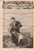1868 Harpers Weekly September 5-Southern Democrats rebel; Chinese Wedding;Alaska