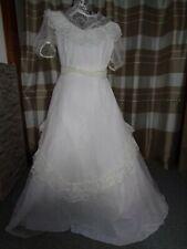 (25)Edles Damen Braut Standesamt Abend Kleid GR: GR: 38
