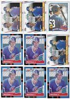 Lot Of 30 Mark Grace Rookie Cards 1988/1989 Donruss Fleer Topps Bowman Score