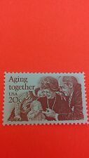 Aging Together Issue Stamp 1982 Single 2011 Mint Never Hindged.