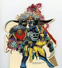 Marvel Comics X-Men Vintage Cyclops Sabretooth Gambit Card Board Stand Ups