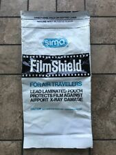 Sima Film Shield For Air Travelers Lead Laminated Pouch Protects Film