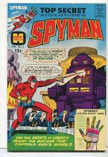 Top Secret Adventures -Spyman #3 VF/NM Agents Of Liberty Harvey Comics CBX6