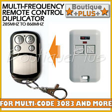 Compatible Remote for Multi-Code 3083 Gate Garage Remote MultiCode 308301