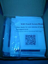 WIFI LCD Wireless Smart Programmable Thermostat Underfloor Heating App Control