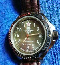 Vostok Komandirskie USSR Wrist Watch VDV