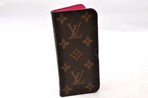 Authentic Louis Vuitton Monogram Folio Iphone 7 Case M61906 LV 99022