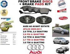 für Audi A6 avant-immobilien 320mm Vorderbremse Scheibensatz + Bremsbelagsatz