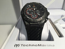 New - Reloj Watch TECHNOMARINE Cruise 45 mm Carbon Ref. 113001 - Box & Papers