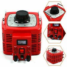 Variac Transformer Variable Ac 0 130v Voltage Regulator 60hz Copper Coil Metered
