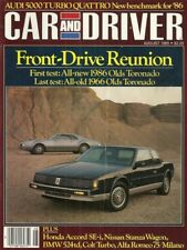 CAR & DRIVER 1985 AUG - TORONADO, SHELBY SKUNKWORKS