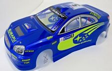 Subaru WRX STI Pre Painted RC Body1/10th Scale Blue HPI Traxxas Kyohso 190mm