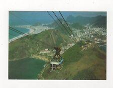 Brazil Rio De Janeiro Vista Panoramica Bondinho do Pao de Acuncar Postcard 782a