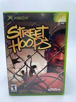 Street Hoops (Microsoft Xbox, 2002) Complete w/ Manual