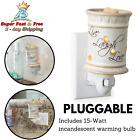 Plug In Candle Wax Melt Tart Warmers Night Light Relax Fragrance Melter
